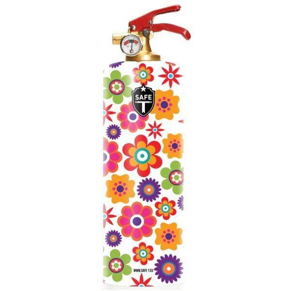 Safe-T Home Accessories Flowers Designer Fire Extinguisher