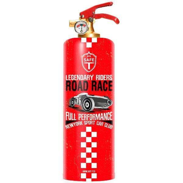 Safe-T Home Accessories Road Race Designer Fire Extinguisher