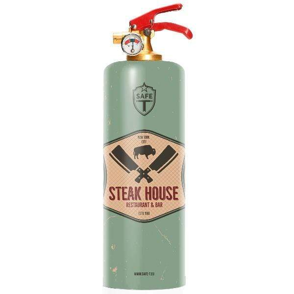 Safe-T Home Accessories Steak House Designer Fire Extinguisher