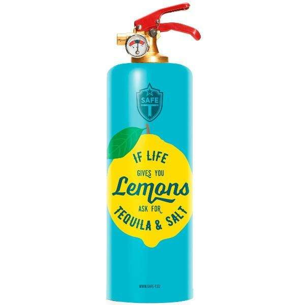 Safe-T Home Accessories Tequila Designer Fire Extinguisher