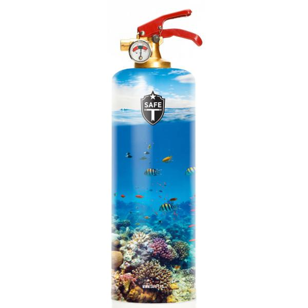 Safe-T Home Accessories Tropical Designer Fire Extinguisher