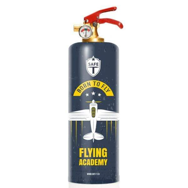 Safe-T Other Accessories Flying Academy Designer Fire Extinguisher