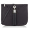 Sarah Haran Shoulder, Crossbody & Belt Bags Black / Silver Ivy Mini Bag - Leather Strap