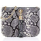Sarah Haran Shoulder, Crossbody & Belt Bags Black Snake Print / Gold Ivy Mini Bag - Textured