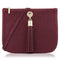 Sarah Haran Shoulder, Crossbody & Belt Bags Burgundy / Gold Ivy Mini Bag - Leather Strap