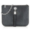 Sarah Haran Shoulder, Crossbody & Belt Bags gunmetal grey / Silver Ivy Mini Bag - Textured