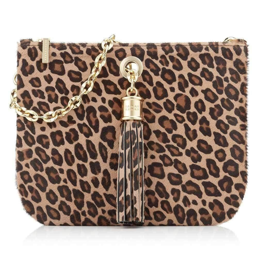 Sarah Haran Shoulder, Crossbody & Belt Bags Leopard / Gold Ivy Mini Bag - Textured