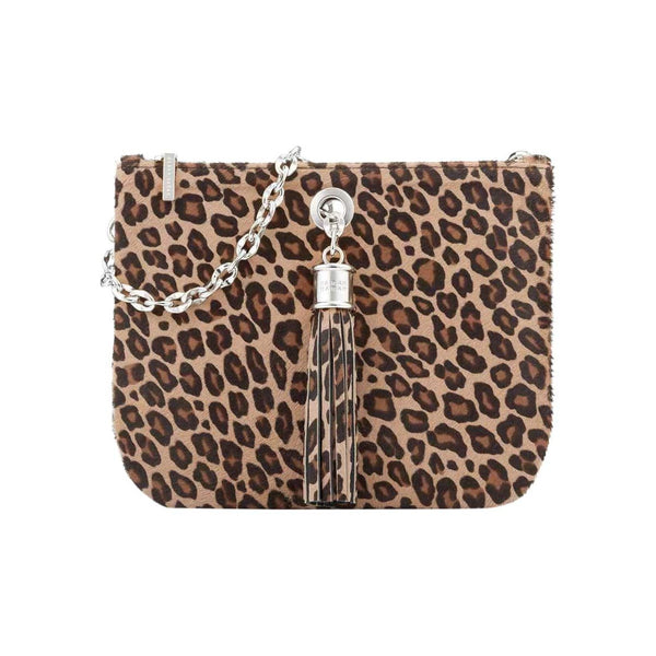Sarah Haran Shoulder, Crossbody & Belt Bags Leopard / Silver Ivy Mini Bag - Textured
