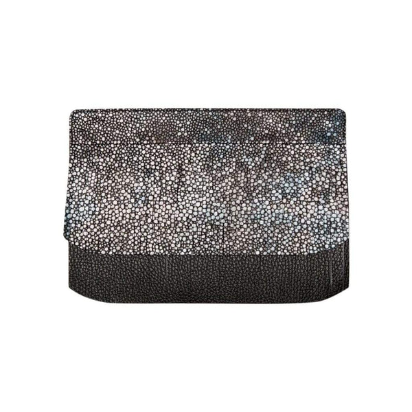 Sarah Haran Wallets, Pouches & Accessories Black - Multi Shagreen Decorative Fringe Strip