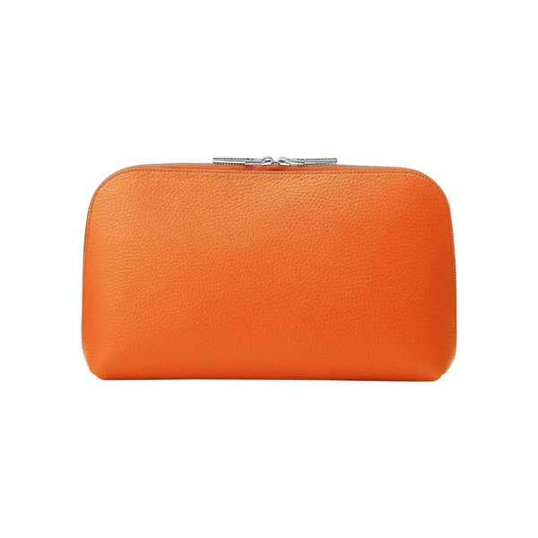 Sarah Haran Wallets, Pouches & Accessories Orange / Silver Cosmetic Bag - Large
