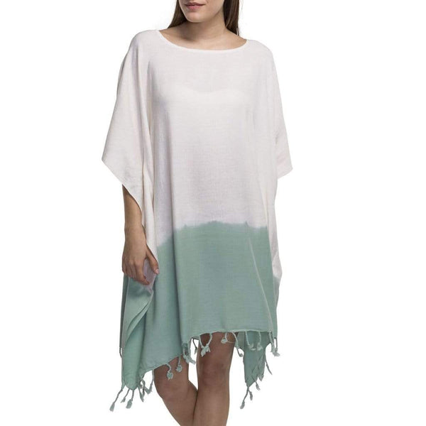 Slate & Salt Bath & Beach Dip Dye Mint Turkish Tunic