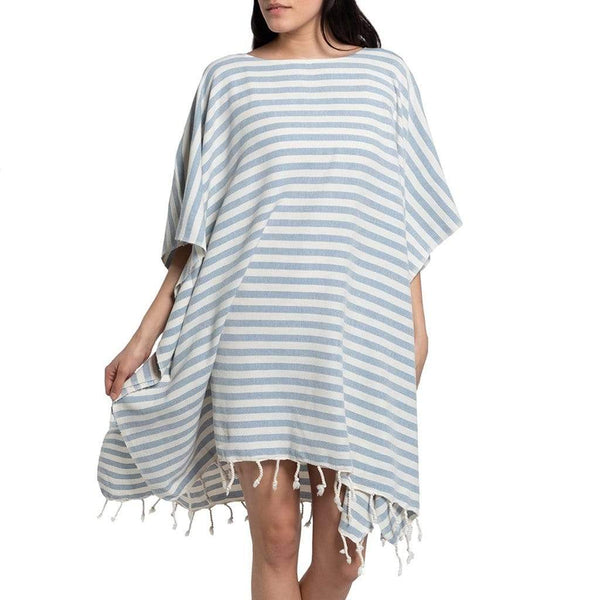 Slate & Salt Bath & Beach Nautical Stripe Ocean Turkish Tunic