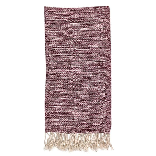 Slate & Salt Bath & Beach Wine Chevron Melange Turkish Towel