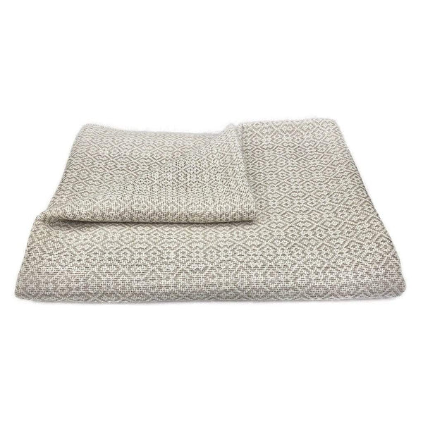 Slate & Salt Cushions & Throws Nazca Baby Alpaca Throw