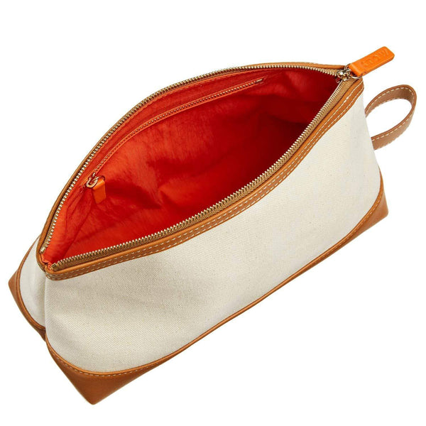 STOW Carryalls & Pouches Natural & Sahara Tan The Washbag