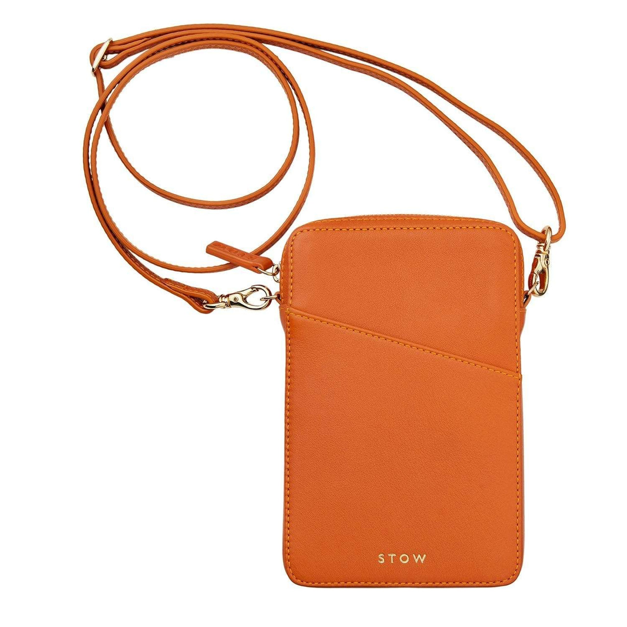 STOW Shoulder, Crossbody & Belt Bags Amber Orange Crossbody Phone Case