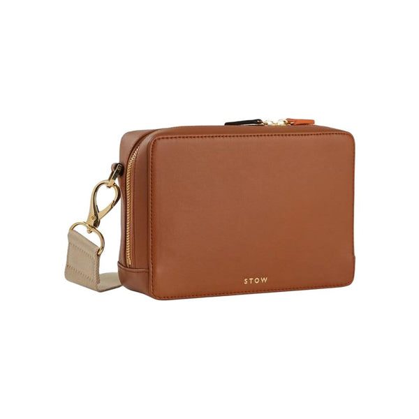 STOW Shoulder, Crossbody & Belt Bags Sahara Tan Namib Leather Belt Bag