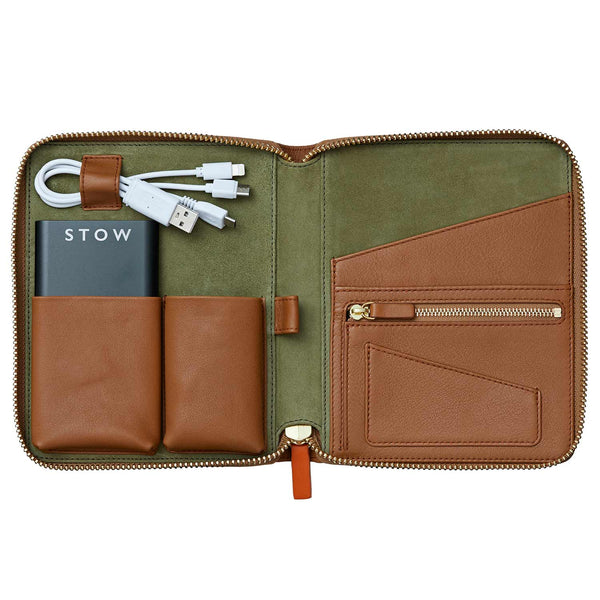 STOW Tablet Cases Mini First Class Leather Tech Case