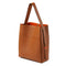 STOW Tote Bags Sahara Tan Carolina Leather Travel Tote