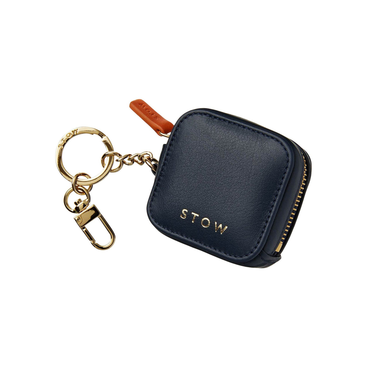 STOW Wallets, Pouches & Accessories Sapphire Blue Clip-On Earphone Case