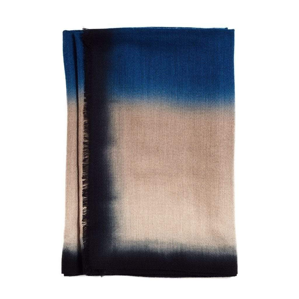 Studio Variously Scarves Prussian Cashmere Merino Scarf