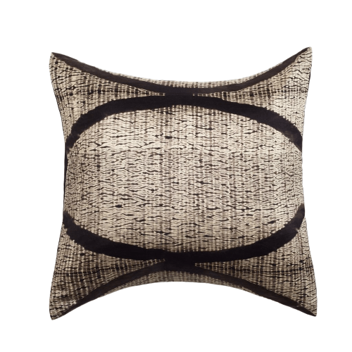 Studio Variously Throw Pillows Black Arc Silk Pillow
