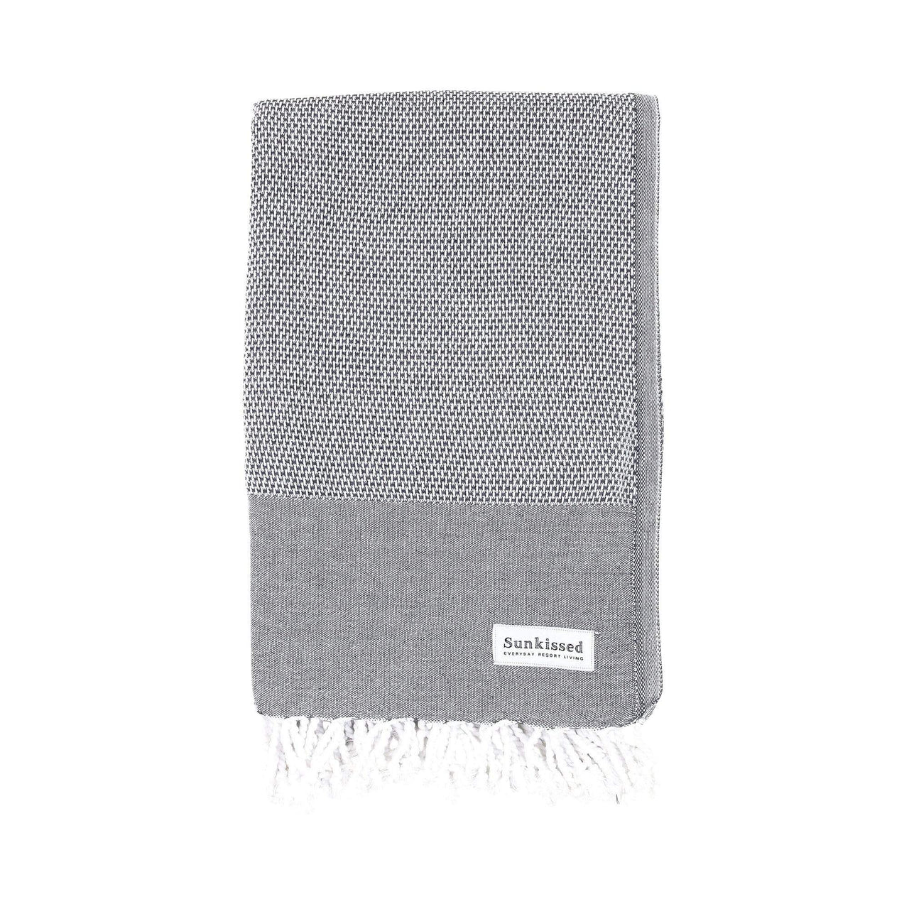 Sunkissed Towels Grey / L Barbados Turkish Cotton Towel