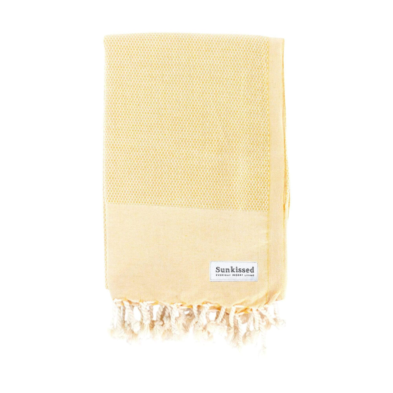 Sunkissed Towels Yellow / L Porto Turkish Cotton Towel