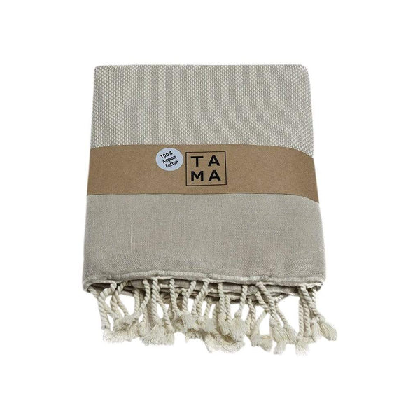 TAMA TOWELS Bath & Beach Bris Beige Peshtemal