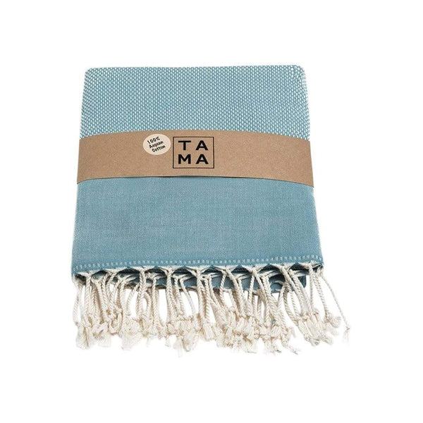 TAMA TOWELS Bath & Beach Bris Sage Peshtemal