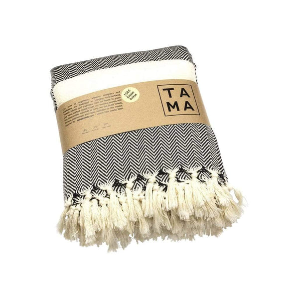 TAMA TOWELS Cushions & Throws Petrichor Throw