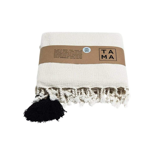 TAMA TOWELS Cushions & Throws Pom Pom Throw