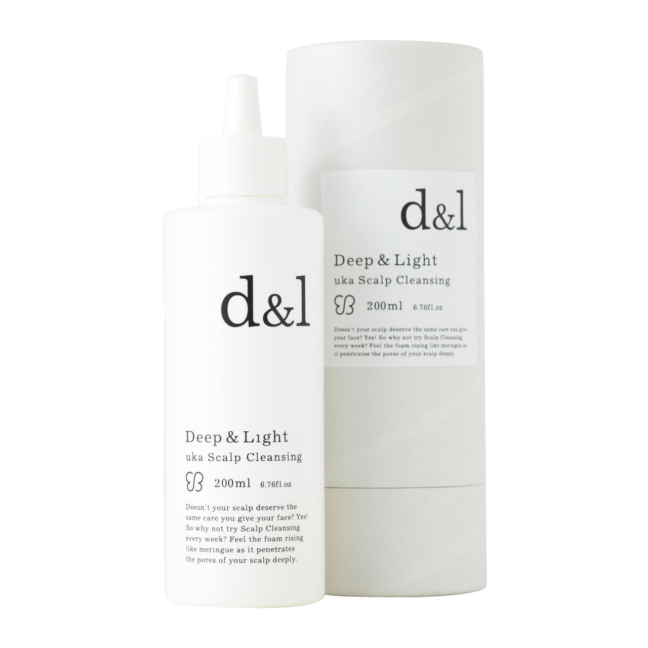 Uka Hair Deep & Light Scalp Cleansing