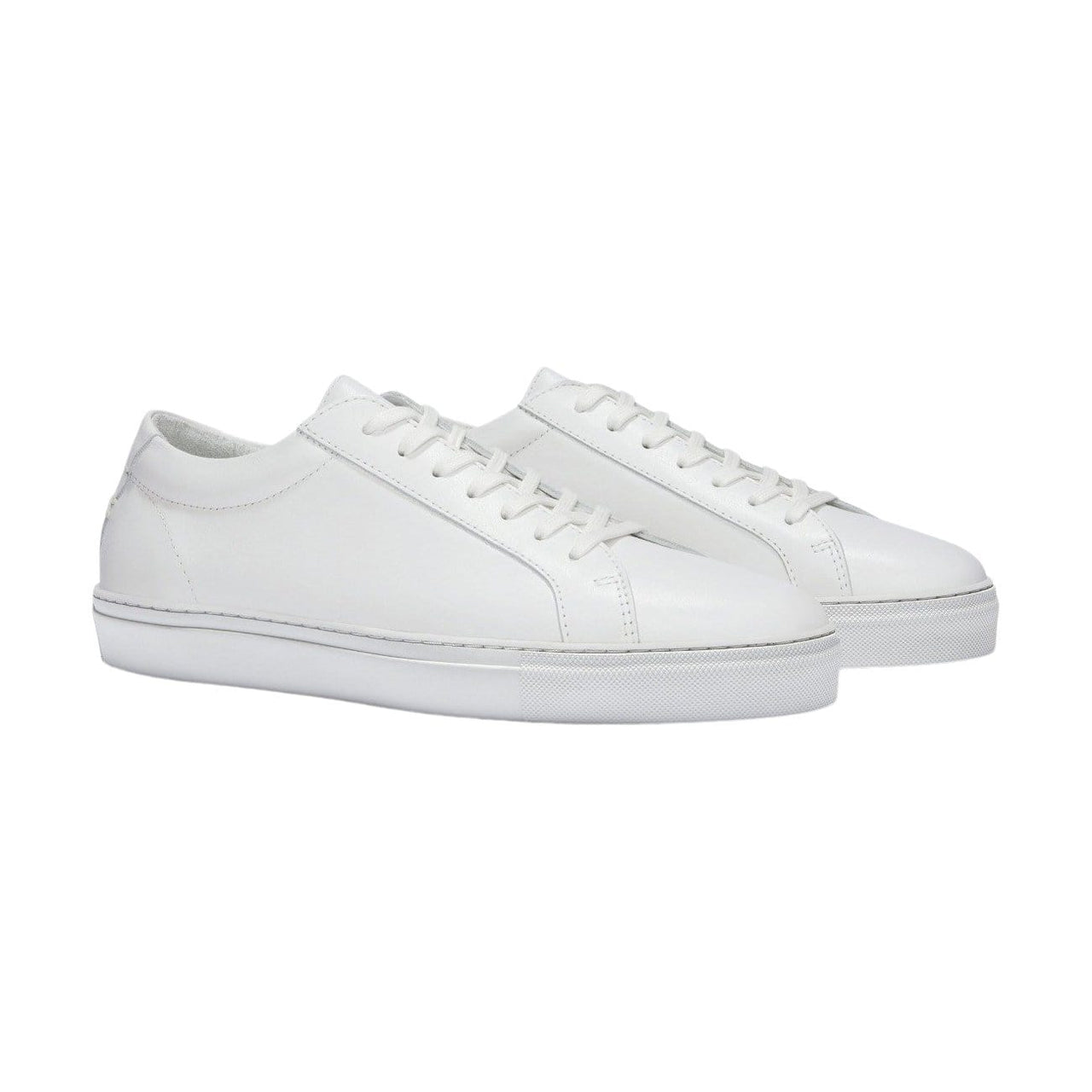 UNIFORM STANDARD Footwear Women's SERIES 1 Triple White Leather Sneaker