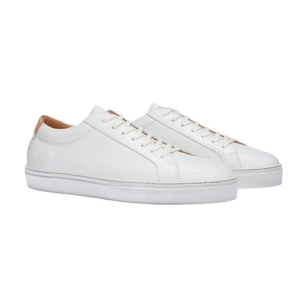 UNIFORM STANDARD Footwear Women's SERIES 1 White Leather Sneaker