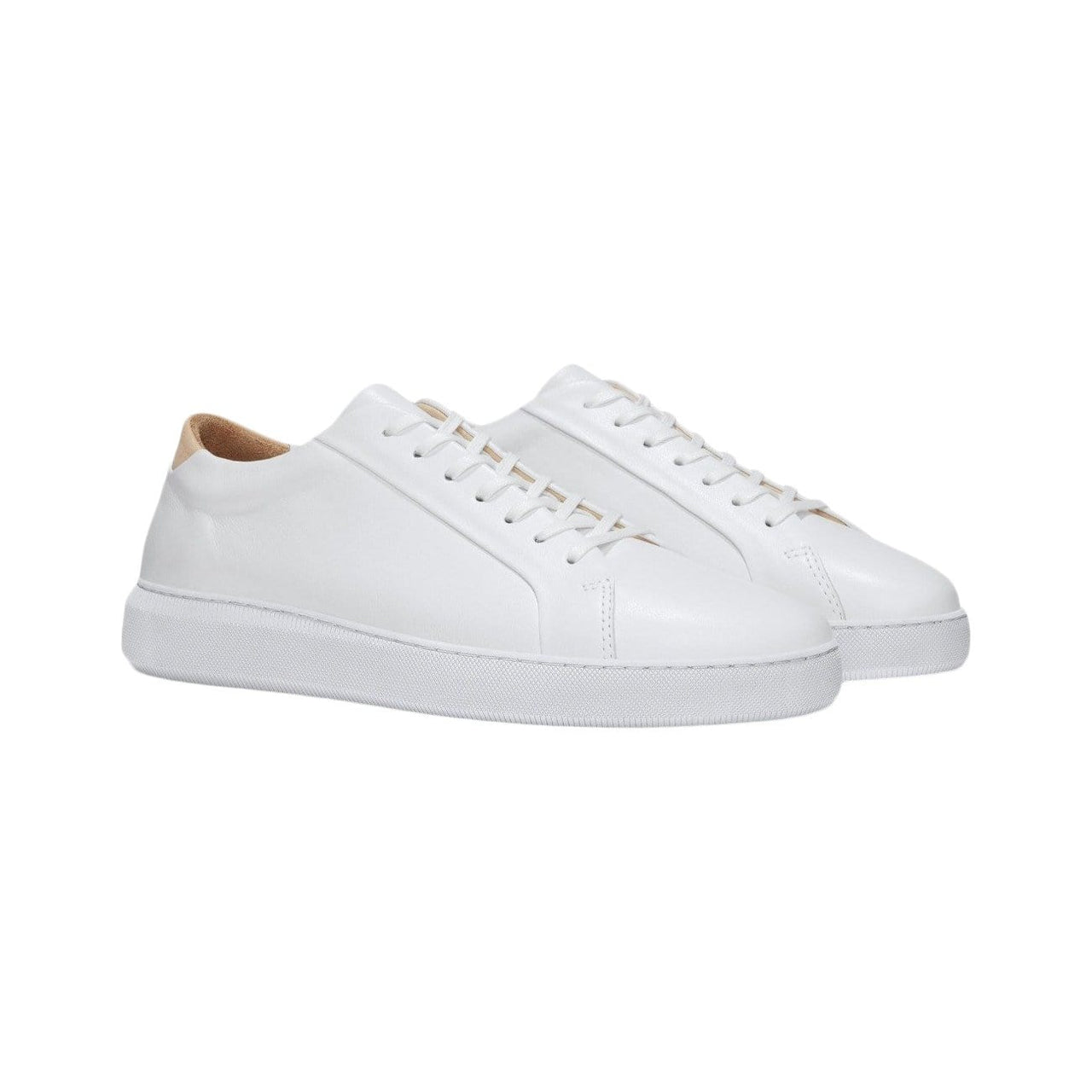 UNIFORM STANDARD Footwear Women's SERIES 8 White Leather Sneaker