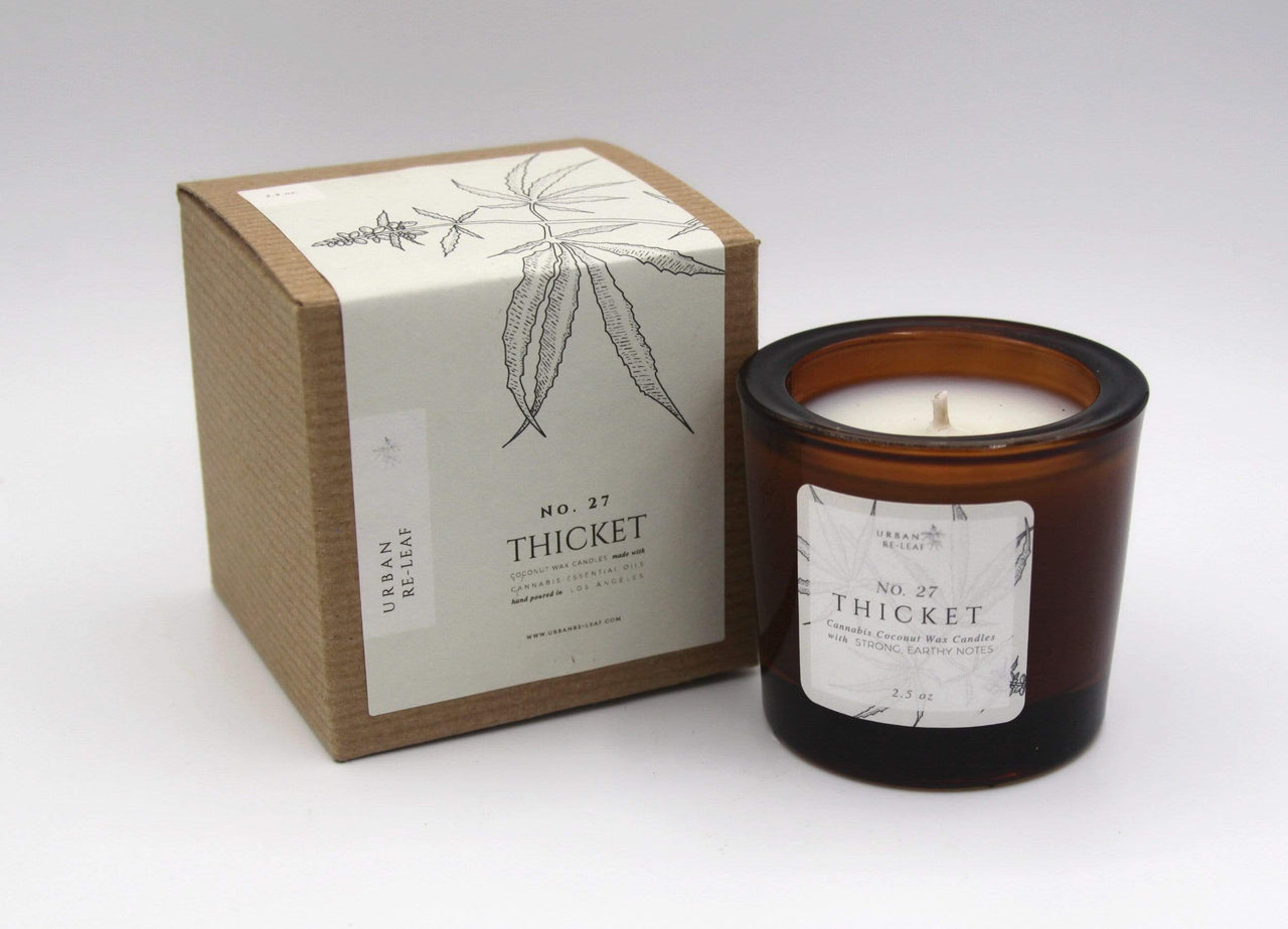Urban Re-Leaf Candles & Diffusers 2.5 oz #27 Thicket Coconut Wax Candle