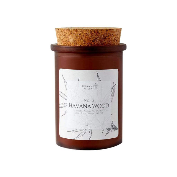 Urban Re-Leaf Candles & Diffusers #3 Havana Wood Coconut Wax Candle