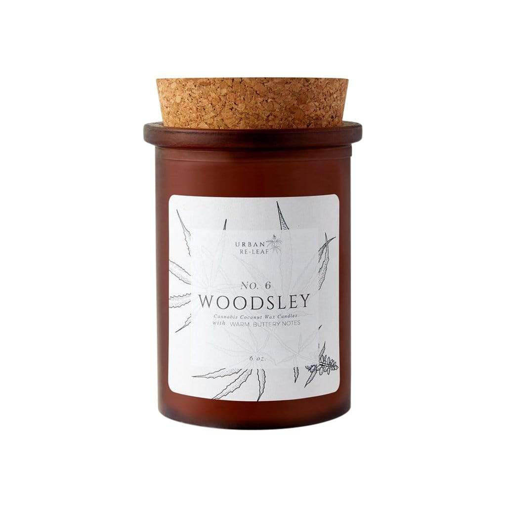 Urban Re-Leaf Candles & Diffusers 6 oz #6 Woodsley Coconut Wax Candle