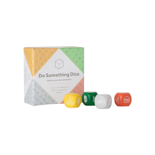 w&p Home Accessories Do Something Travel Dice