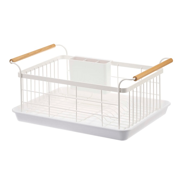 Yamazaki Home Kitchen Organization Tosca Dish Drainer Rack