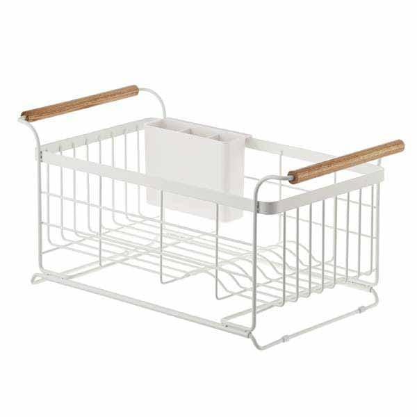 Yamazaki Home Kitchen Organization Tosca Over-the-Sink Dish Drainer Rack