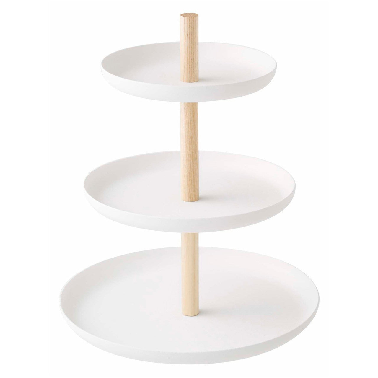 Yamazaki Home Serveware Tosca Three-Tier Server