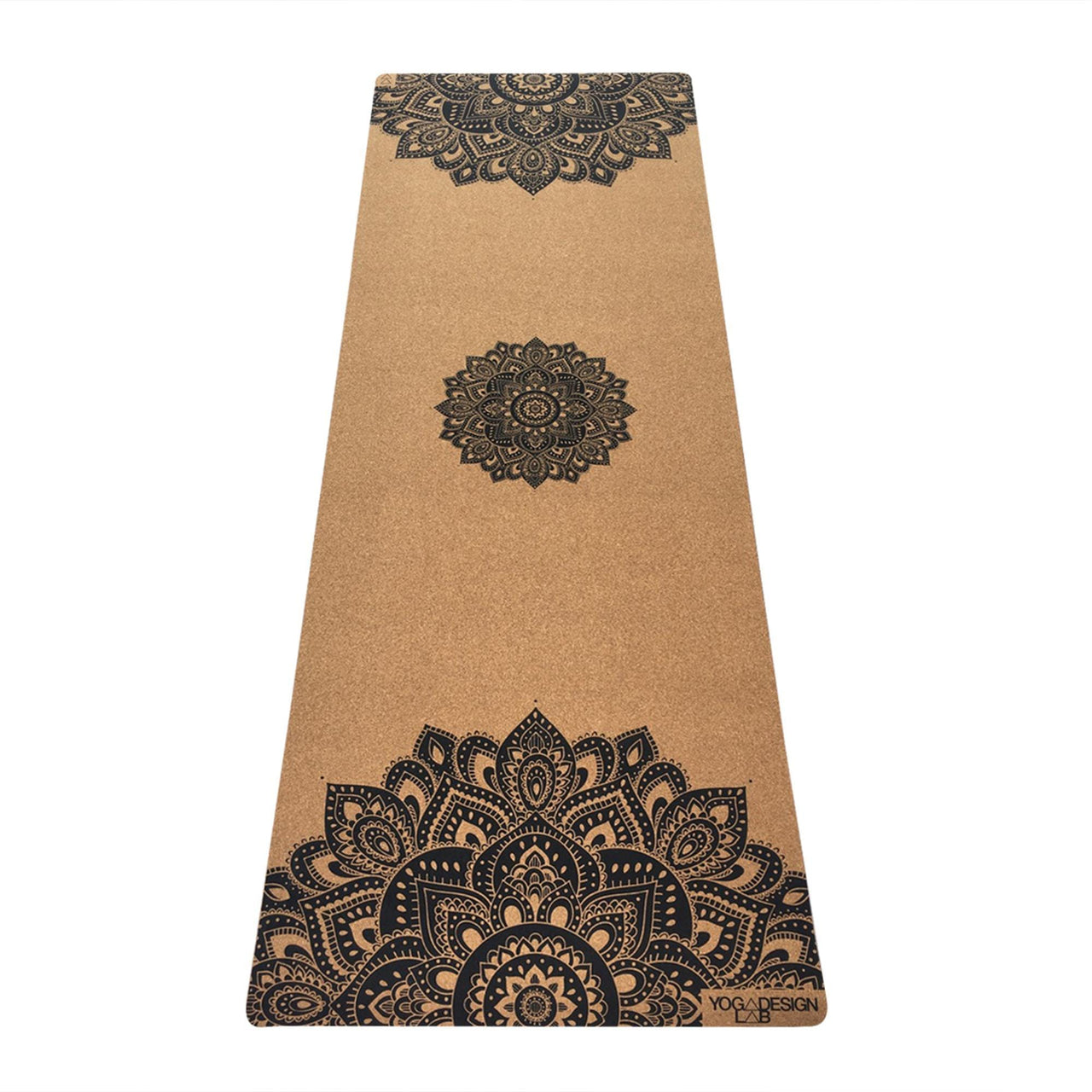 Yoga Design Lab Yoga Mandala Black 3.5mm Cork Yoga Mat