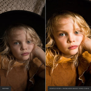 Portraits Workflow - Lightroom & ACR Presets