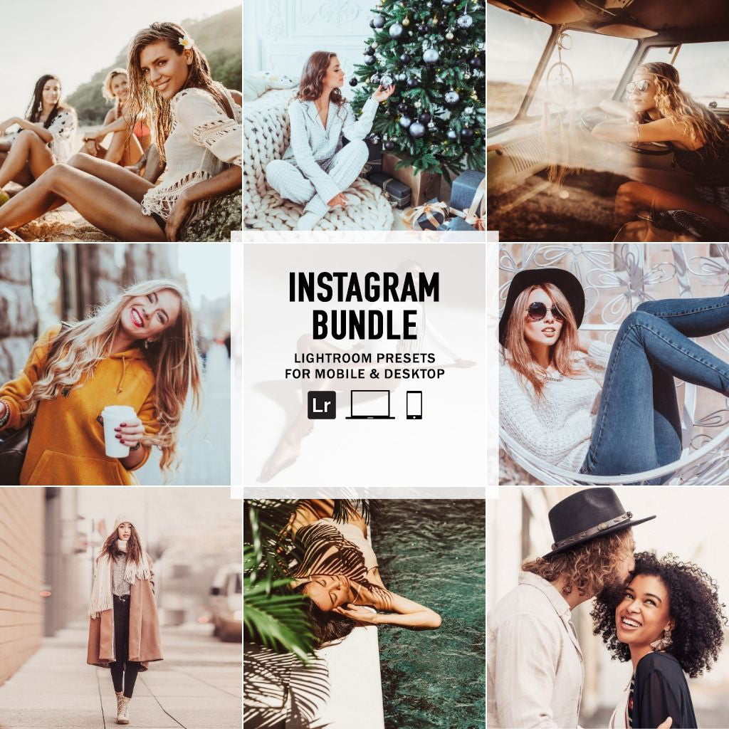 ColorMade Instagram Bundle - Lightroom/ACR Presets - Desktop & Mobile