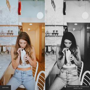 Monochrome: Lifestyle I - Lightroom & ACR Presets