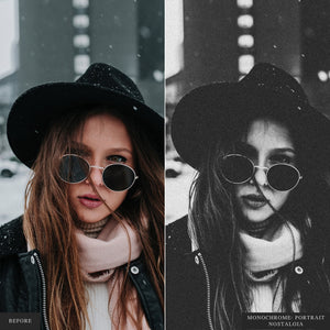 Monochrome: Portrait I - Lightroom & ACR Presets