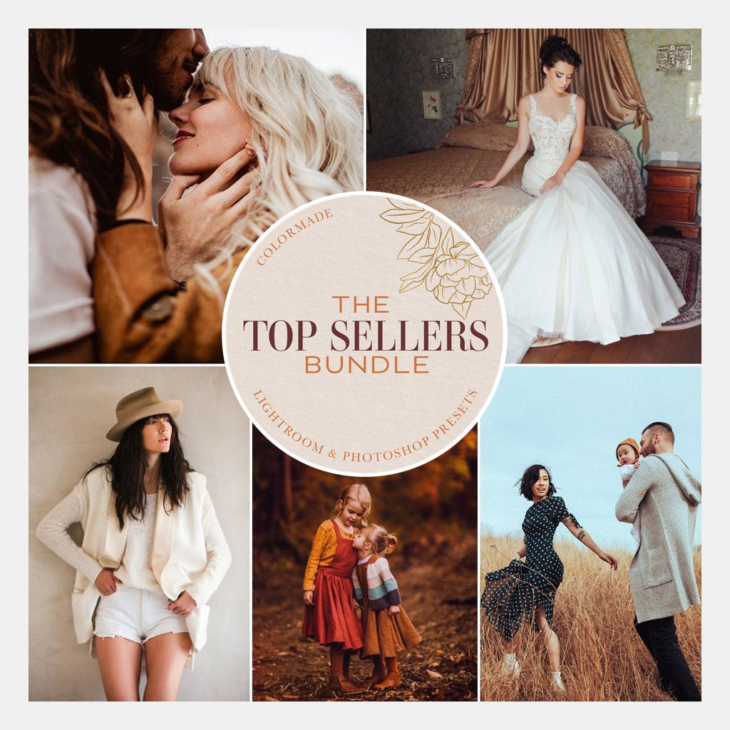 The Top Sellers Bundle - 6 Lightroom/ACR Preset Collections - Desktop & Mobile