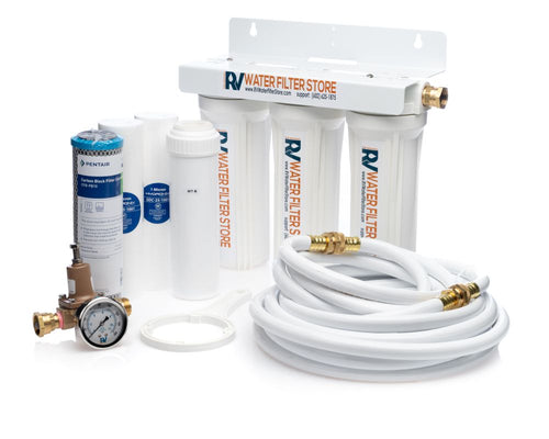 Essential System Water Filter + Iron Filter - Total Solution